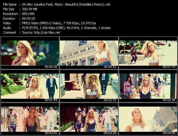 Alex Gaudino Feat. Mario video screenshot