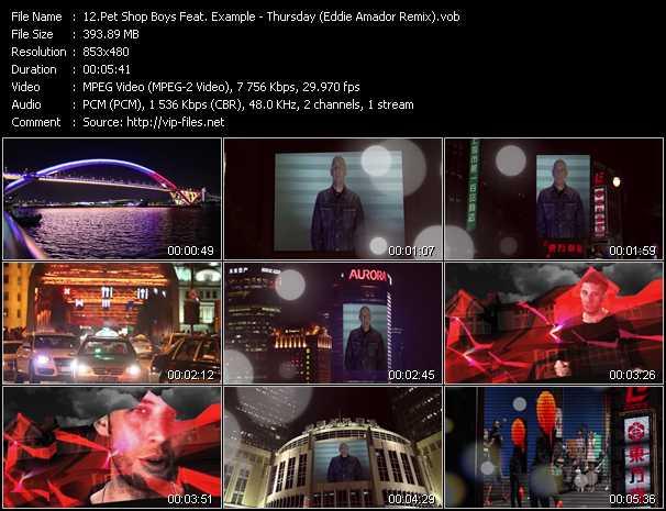 video Thursday (Eddie Amador Remix) screen