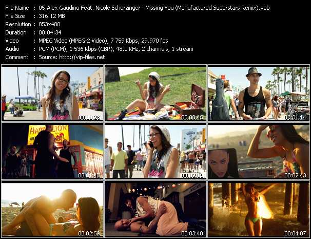 Alex Gaudino Feat. Nicole Scherzinger video screenshot