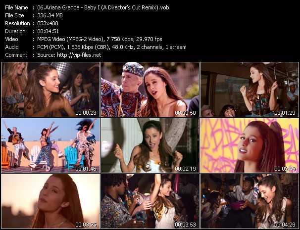 Ariana Grande video screenshot