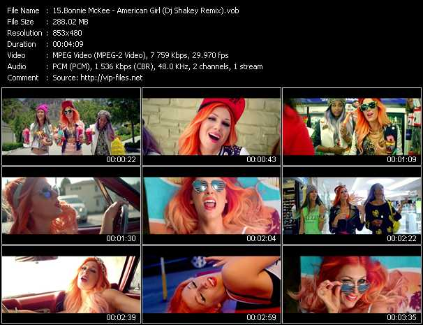 Bonnie McKee video screenshot