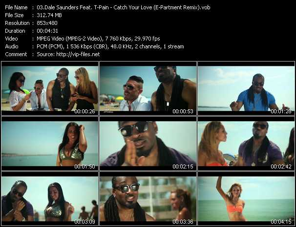 Dale Saunders Feat. T-Pain video screenshot