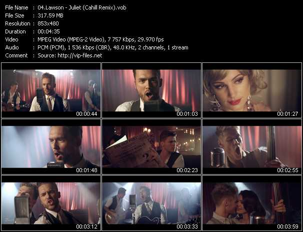 Lawson video screenshot