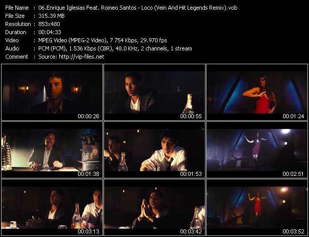 Enrique Iglesias Feat. Romeo Santos video screenshot