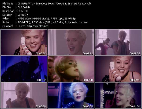 Betty Who video screenshot