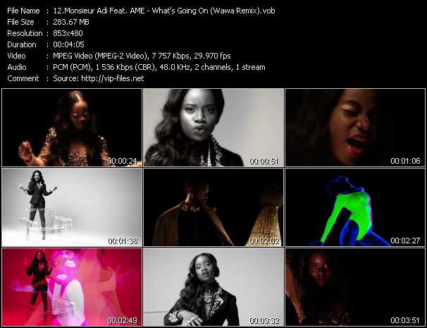 Monsieur Adi Feat. A.M.E. video screenshot