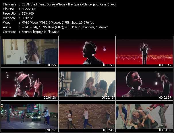 Afrojack Feat. Spree Wilson video screenshot