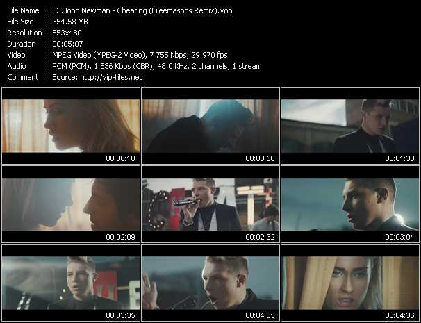 John Newman video screenshot