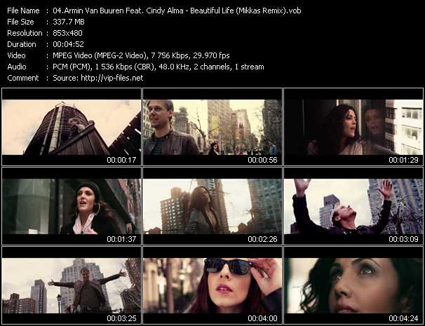 Armin Van Buuren Feat. Cindy Alma video screenshot