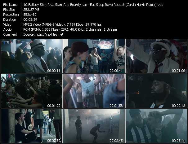 Fatboy Slim, Riva Starr And Beardyman video screenshot