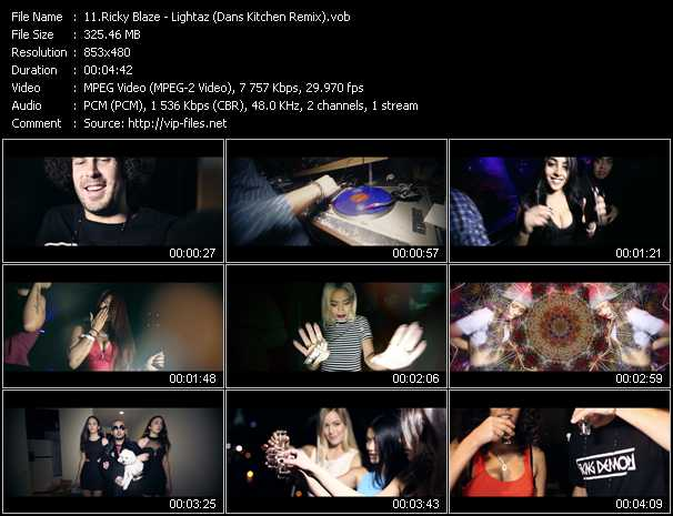 Ricky Blaze video screenshot