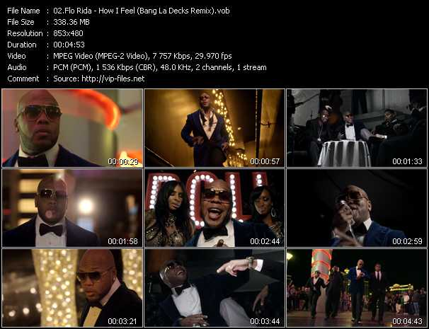 Flo Rida video screenshot