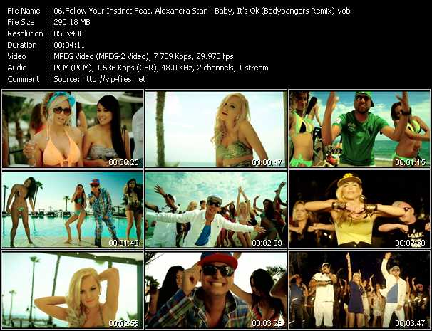 Follow Your Instinct Feat. Alexandra Stan video screenshot
