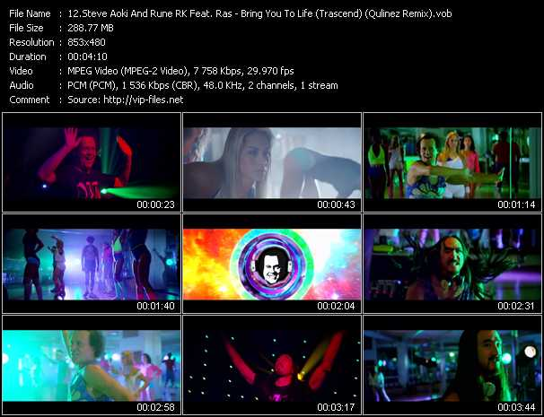 Steve Aoki And Rune RK Feat. Ras video screenshot