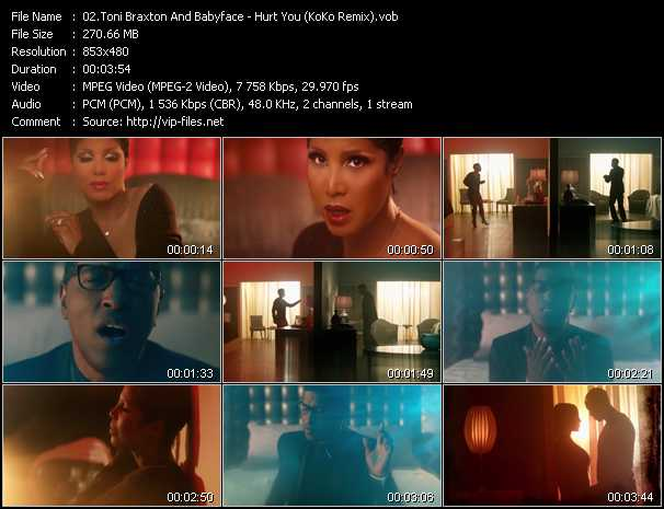 Toni Braxton And Babyface video screenshot