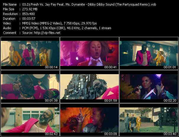 Dj Fresh Vs. Jay Fay Feat. Ms. Dynamite video screenshot