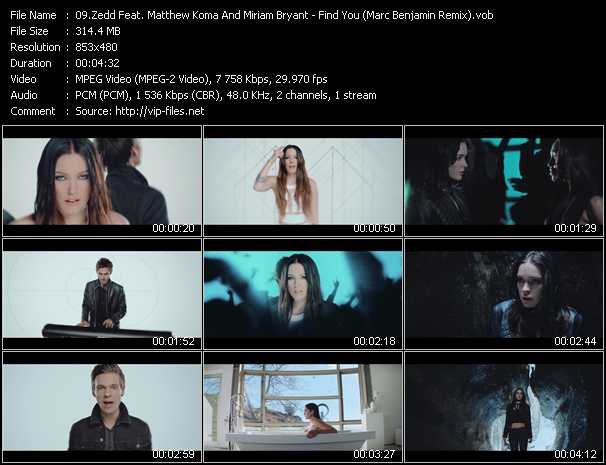 Zedd Feat. Matthew Koma And Miriam Bryant video screenshot