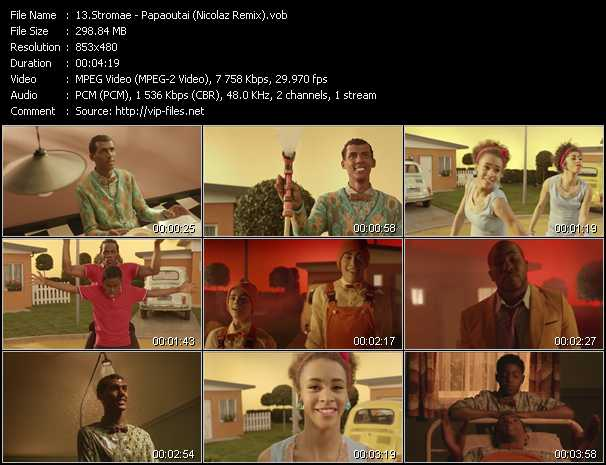 Stromae video screenshot
