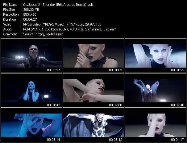 Jessie J video screenshot