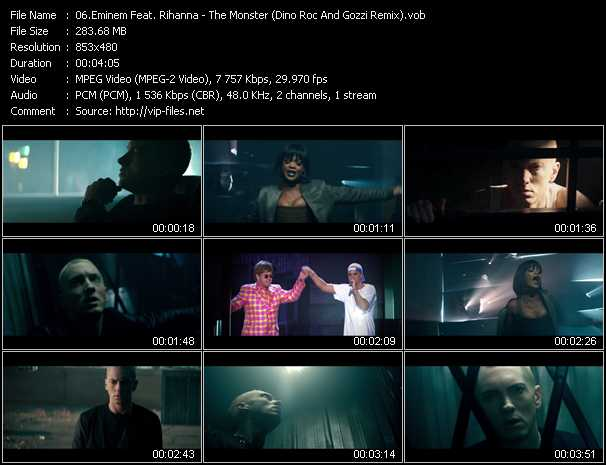 Eminem Feat. Rihanna video screenshot