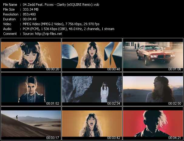Zedd Feat. Foxes video screenshot