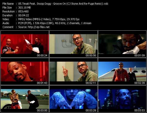 Timati Feat. Snoop Dogg video screenshot