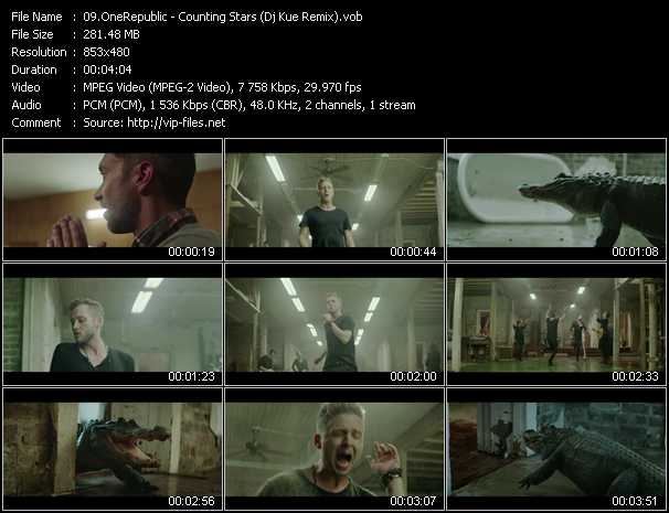 OneRepublic video screenshot