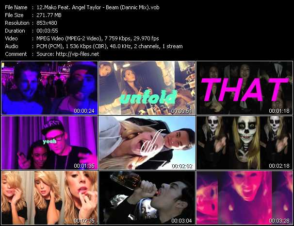 Mako Feat. Angel Taylor video screenshot