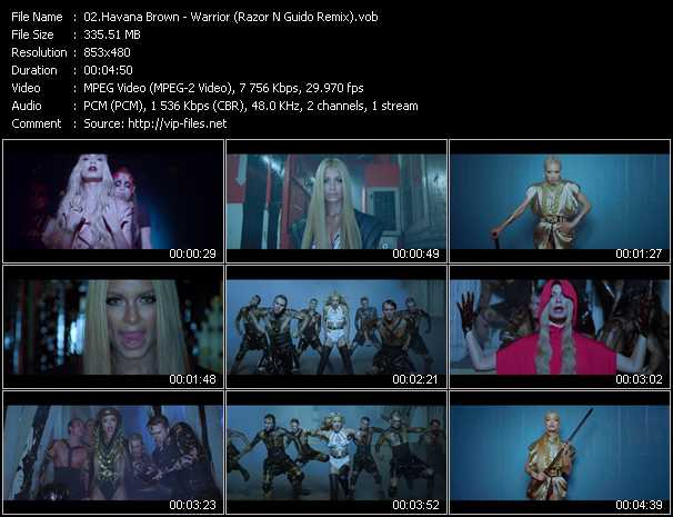 Havana Brown video screenshot