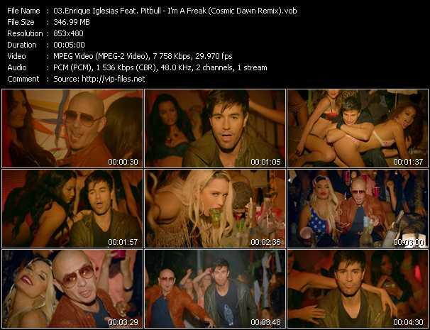 Enrique Iglesias Feat. Pitbull video screenshot