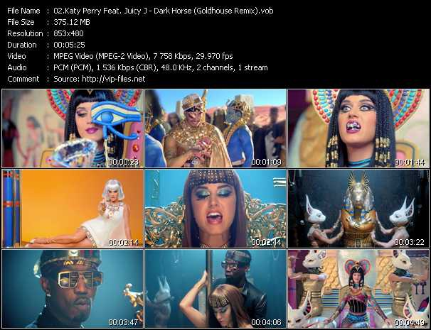 Katy Perry Feat. Juicy J video screenshot
