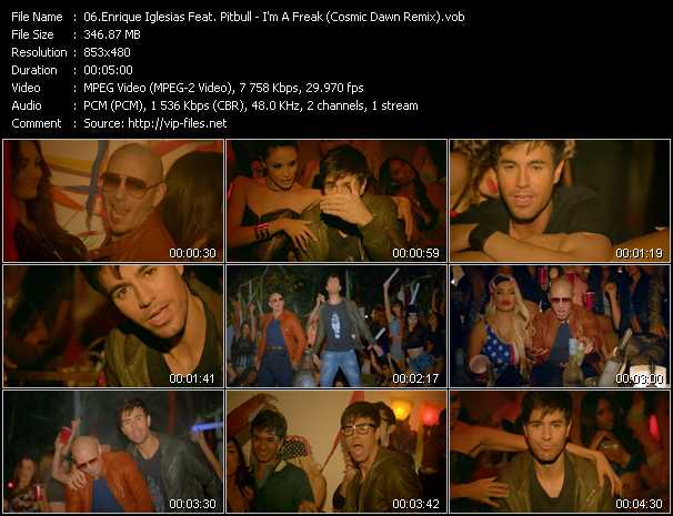 Enrique Iglesias Feat. Pitbull video screenshot