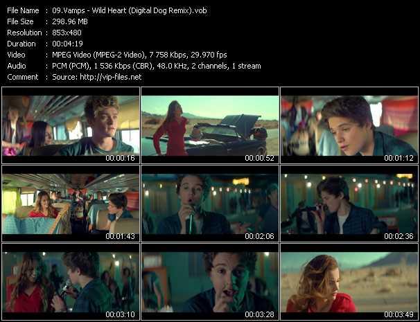 Vamps video screenshot