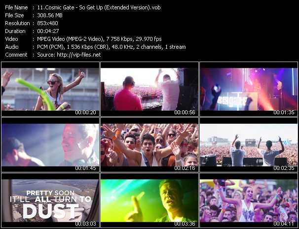 Cosmic Gate video screenshot