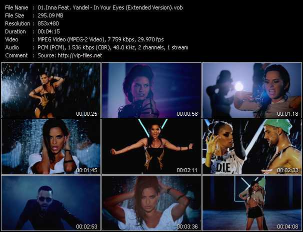 Inna Feat. Yandel video screenshot