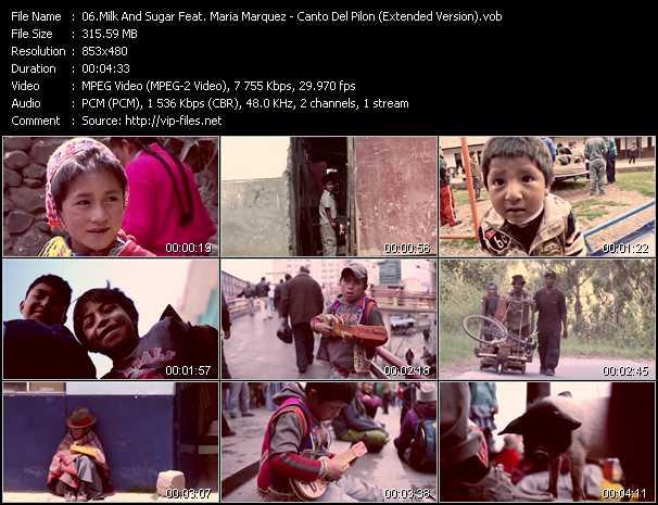 Milk And Sugar Feat. Maria Marquez video screenshot