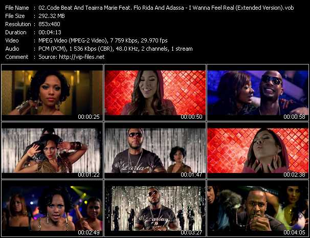 Code Beat And Teairra Marie Feat. Flo Rida And Adassa video screenshot