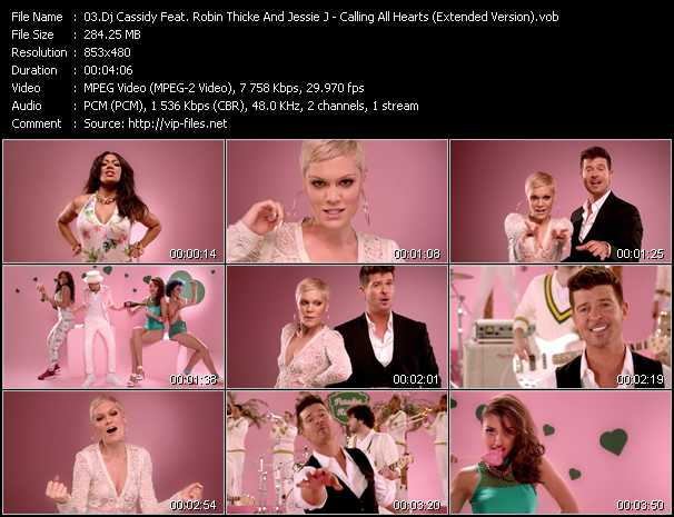 Dj Cassidy Feat. Robin Thicke And Jessie J video screenshot