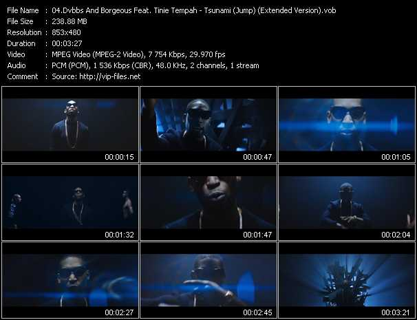Dvbbs And Borgeous Feat. Tinie Tempah video screenshot