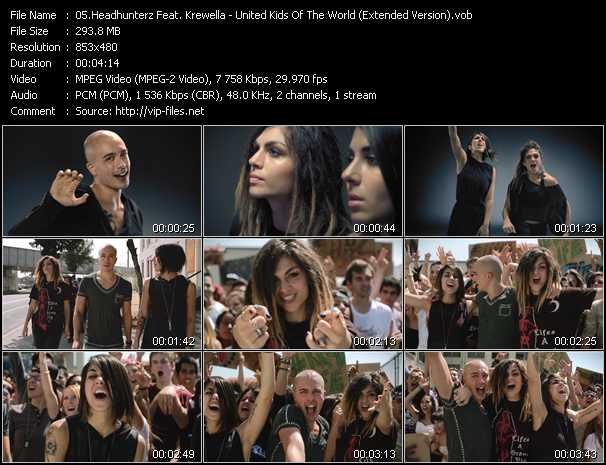 Headhunterz Feat. Krewella video screenshot