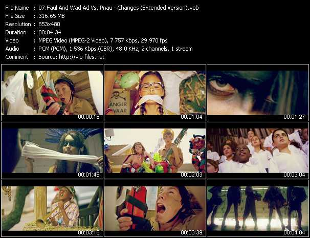 Faul And Wad Ad Vs. Pnau video screenshot
