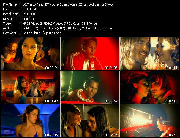 Tiesto Feat. BT video screenshot