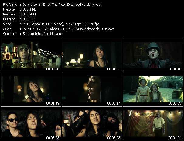 Krewella video screenshot