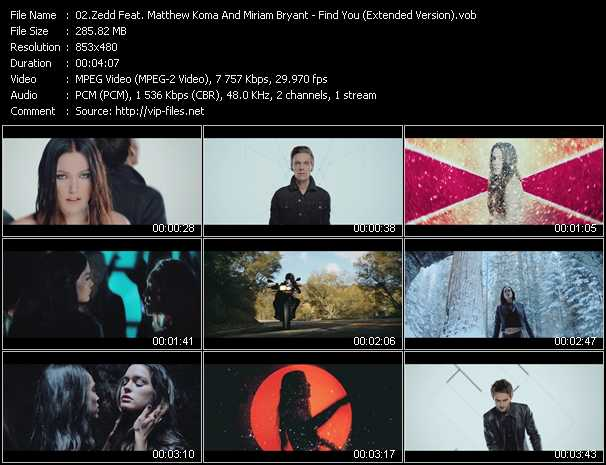Zedd Feat. Matthew Koma And Miriam Bryant video screenshot
