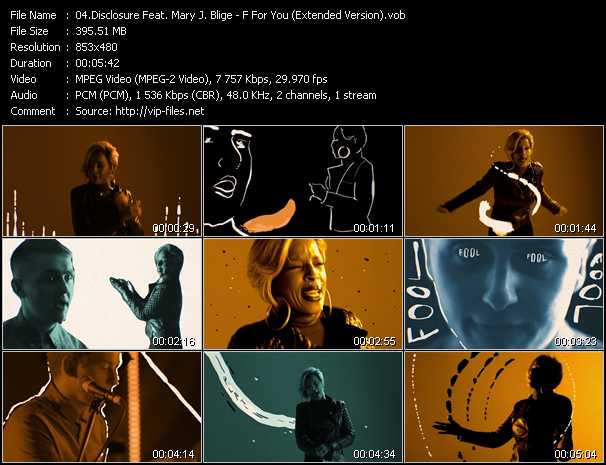 Disclosure Feat. Mary J. Blige video screenshot