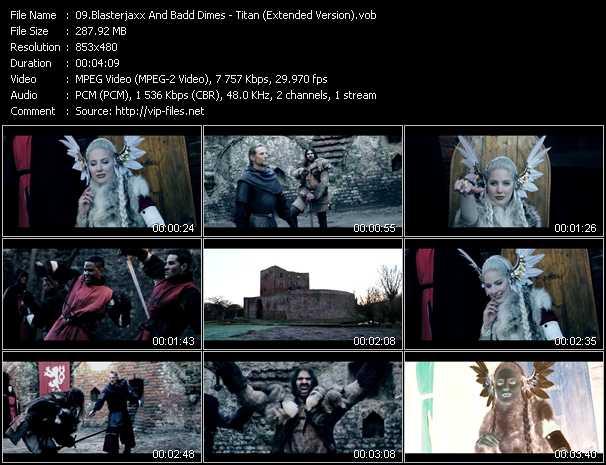 Blasterjaxx And Badd Dimes video screenshot