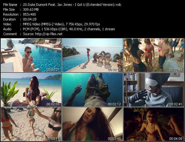 Duke Dumont Feat. Jax Jones video screenshot