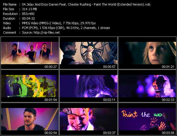 video Paint The World (Extended Version) screen