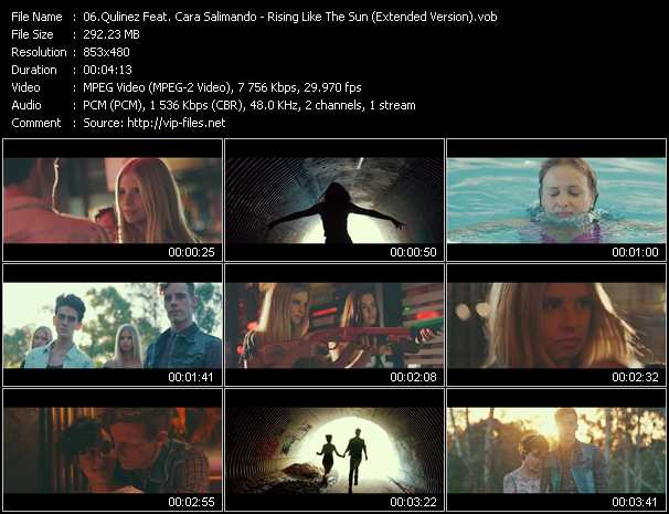 Qulinez Feat. Cara Salimando video screenshot