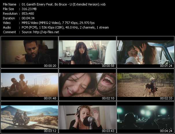 Gareth Emery Feat. Bo Bruce video screenshot
